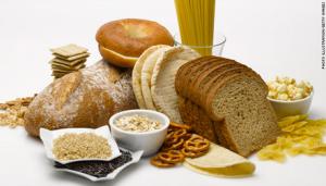 Gluten foods.